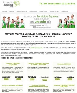 Limpiezas express ecolaver - Empresas limpieza pamplona ...
